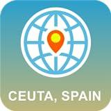 Ceuta, España Mapa