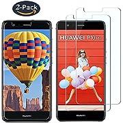 Verre Trempé pour Huawei P10 Lite, IMAXMAC Ultra Résistant 9H Dureté Film Protection en Verre trempé écran [2 Pièces] [Dureté de 9H] [Installation Facile] [Transparent et Clair] [Anti-Huile] [Sans Bulles]