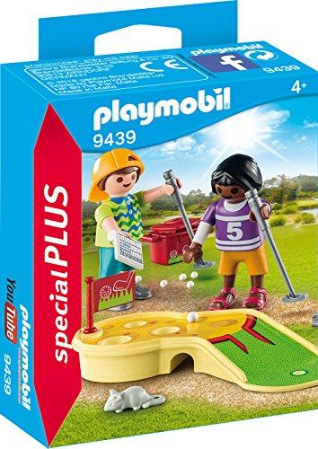 PLAYMOBIL- Minigolf Juguete, Multicolor (geobra Brandstätter 9439)