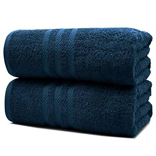 100% Cotton Bath Sheet Set of 2–Super Soft Bath Sheets