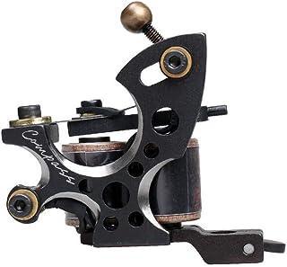 Dragonhawk Compass Tattoo Machine Plata Shader Steel Frame Copper Coils Shader Machine WQ2062