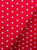 Feincord Punkte, mint, rosa, rot, Breite 145 cm (Rot,
