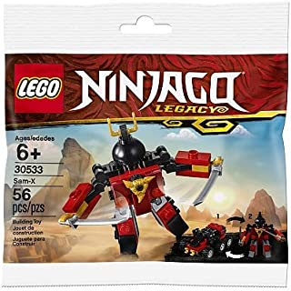 LEGO Ninjago Legacy Sam-X 30533 Building Kit (56 Pieces)