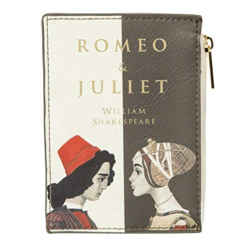 Romeo und Julia Geldbörse für Literaturliebhaber - Kartenbörse für Damen von Well Read - Münzbörse für Buchfreunde