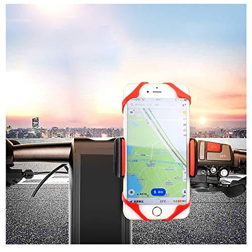 CGY Holder Fietshouder, universeel voor smartphones met scherm van 4 tot 7 inch, compatibel met straat- en mountainbikes, motorfietsen en scooters