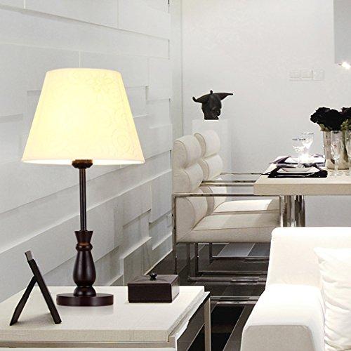 JM lampe de table Lampe de bureau en bois Artisanat Garden Retro Stage, ton Neutre doux, lampe de chevet de chambre à coucher, salon, lampe de bureau, lampe de bureau de décoration d'hôtel.