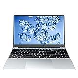 KUU A10 Ordenador Portátil 15.6'', Ultrabook Notebook Inter Celeron J4125, 8GB RAM 256GB SSD, Monitor de PC portátil FHD con USB 3.0 y Bluetooth 4.0, portátil con Windows 10, Teclado Negro