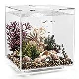 biOrb Cube 60 Aquarium with LED - 16 Gallon, Transparent