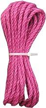 Rose Red Jute Twine,15 Meters(49 ft),5mm - Eco-Friendly Natural Jute String Rope