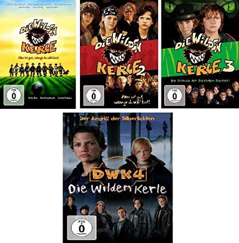 Die wilden Kerle - Kinofilm 1+2+3+4 im Set - Deutsche Originalware [4 DVDs]
