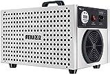 WENJZJ 5G Generador de ozono Natural Eliminador de olores y purificador Confort Limpiador de Acero Inoxidable Ozonizador Desodorante y esterilizador