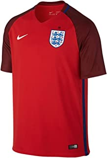 Nike Kid's England Away Stadium Soccer Jersey (Youth Small) Red