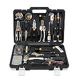 Conjuntos de herramientas para el hogar Hogar Daily Repair Set de hogar Destornillador Electrician Destornillador Caja de combinación de 45 piezas Kit de herramientas de hardware Reparación diaria y b