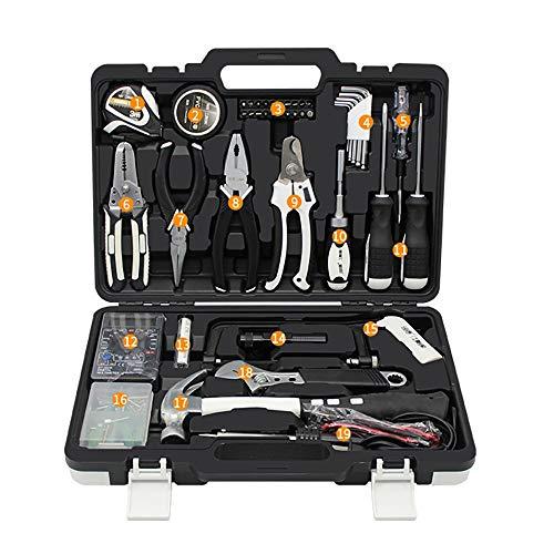 Kits de herramientas para el hogar Hogar Daily Repair Set de hogar Destornillador Electrician Destornillador Caja de combinación de 45 piezas Kit de herramientas de hardware Caja de herramientas para