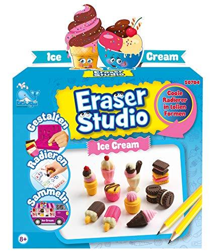 Beluga Spielwaren GmbH 50704 Eraser Studio Eiscreme Radierer Spielzeug, Mehrfarbig
