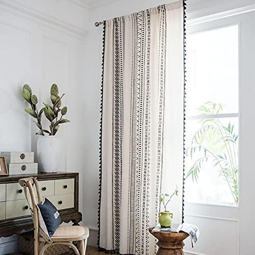 cortina visillo comedor de la marca KKLT