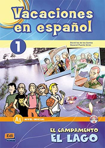 Vacaciones en español 1: El campamento el lago (Cuadernos de vacaciones)