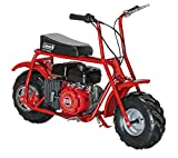 Coleman Powersports Mini Trail Bike, Gas Powered, 98cc/3.0HP, Red (CT100U)