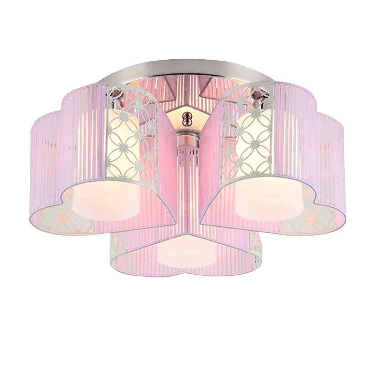 BS 天井灯 - LEDラウンドモダンなミニマリストロマンチックな天井灯、寝室、子供部屋丸型天井灯(4サイズあり) ビルトインシーリングライト (Color : A, Shape : 3)