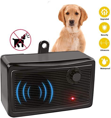 Anti Barking Control Device, Sonic Bark Deterrents Silencer Stop Barking, Range Waterproof Dog Repellent Device, Safe for Small Medium Large Dog