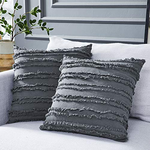 Longhui bedding Grey Throw Pillo...