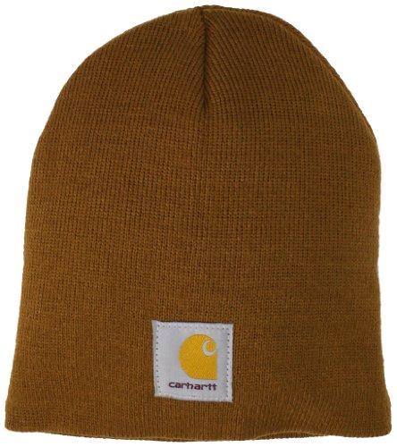 Carhartt Men's Acrylic Knit Hat,Carhartt Brown,One Size