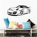 Wandtattoo Kinderzimmer Porsche Car Home Decorboy Schlafzimmer Waterpoof Wandplakat Wohnkultur