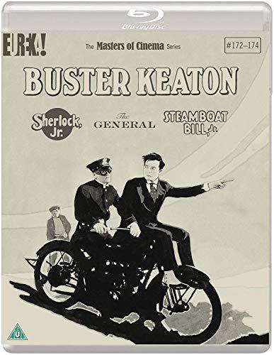 Buster Keaton: Sherlock Jr.. The General And Steamboat Bill. Jr. Standard Edition Reissue (3 Blu-Ray) [Edizione: Regno Unito]