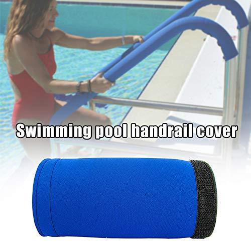 feeilty Schwimmbad-Handlaufabdeckung, Blue Chill Grip Pool-Handlaufabdeckung Und Leiterschienen-Sicherheitsgriffabdeckungen 4/6/8 / 10Ft Für Pool-Handläufe