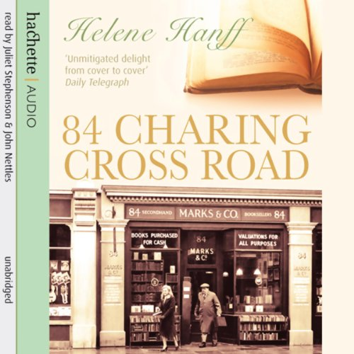84 Charing Cross Road audiobook cover art