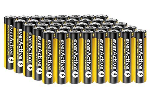 40 Stück Everactive Industrial Batterien Mikro AAA 1100 mAh 1,5 V LR03 Alkaline