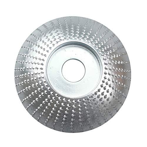 Easy-topbuy Ángulo De Madera Muela Abrasiva Disco Abrasivo Disco Desbaste Lijar Tallar Herramienta para Amoladora Angular, 75 Mm / 85 Mm