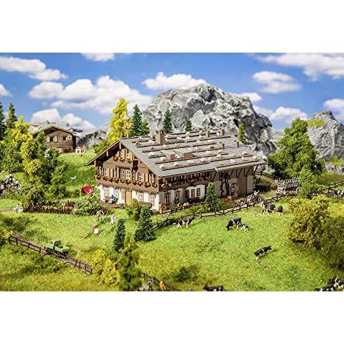 Faller FA232199 Großer Alpenhof mit Scheune Modellbausatz, verschieden