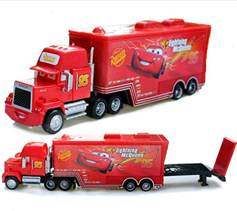Generic 42 Style Disney Pixar 3 Metal Alloy Car Lightning McQueen Jackson Storm Mack Uncle Truck Diecast Model Pixar Car Toys for Kids 95 Truck