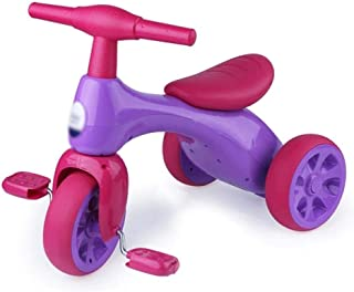 Safe Riding Toy Kids' Bikes,Baby Balance Bike, Tricycle Boy Girl Practicing Bicycle,Boys Girls Trikes for Toddler Tricycle...