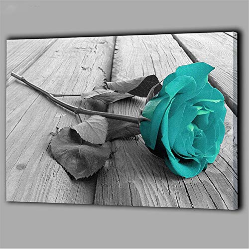 DIY 5D Pintura de Diamante taladro completo kit Rosas azules Diamond Painting adultos punto de cruz rhinestone bordado diamante arte Para Decoración de la Pared del Hogar Square Drill,100x200cm