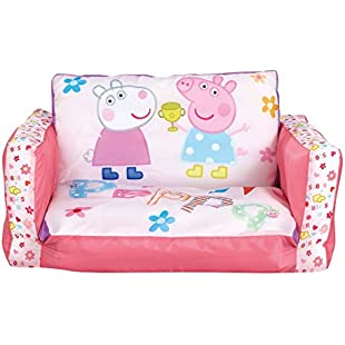 Peppa Pig Inflatable Kids Mini Sofa and Flip Out Lounger:Eventmanager
