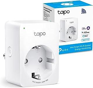 Tapo P110 Smart WLAN-stopcontact Tapo P110 met energieverbruikscontrole, Smart Home Alexa stopcontact, werkt met Alexa, Go...