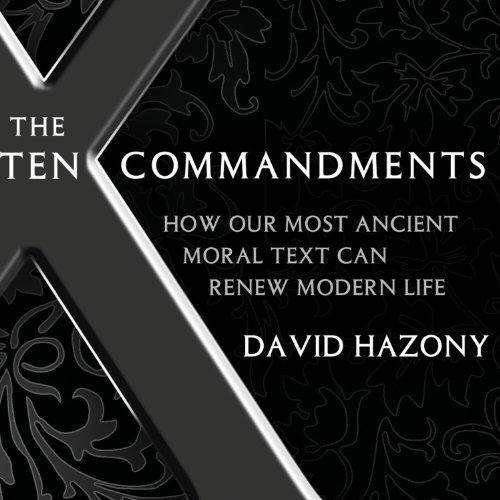The Ten Commandments audiobook cover art