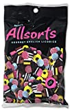 Gustaf's AllSorts Gourmet English Licorice Candy, 6.3 Ounce Peg Bag