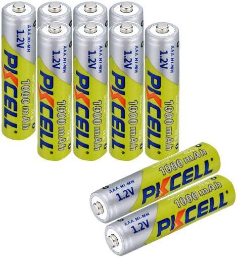 AAA 1.2V NIMH Battery 10pcs Rechargeable 1000mAh El Paso Mall Solar Price reduction