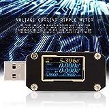 Medidor de ondulación de corriente de voltaje Digital 1pcs Multímetro Probador de carga Detector de banco de energía Probador de PD USB Probador de control de calidad para(K001)