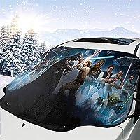 Parabrisas multifunción parabrisas del coche de Star Wars,parasol para el automóvil,parasol para quitar el hielo para la protección del invierno Prevenir arañazos Impermeable