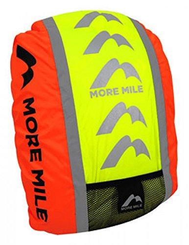 More Mile MM1774/5 Housse de Protection imperméable à Haute visibilité pour Sac à Dos Orange Orange
