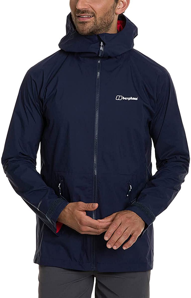 Berghaus Max 77% OFF Men's Deluge Pro Blue Jacket Sales of SALE items from new works 2.0