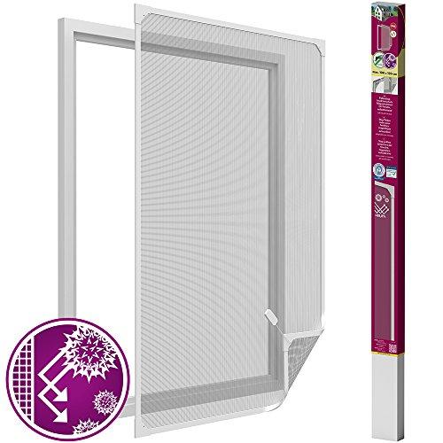 Easy Life anti-pollenrooster voor ramen, met PVC magneetframe, anti-pollen, bescherming tegen insecten voor ramen zonder boren