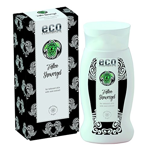 eco cosmetics Tattoo Duschgel 200ml (bio, vegan, Naturkosmetik) Shower Gel