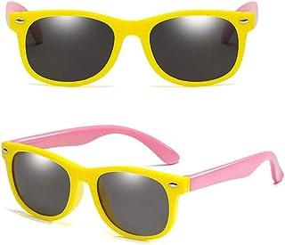 24 JOYAS - Gafas de Sol Infantiles estilo pasta de colores con gamuza y funda para Niñas y Niños