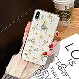 La nueva funda para teléfono con flores inmortales iphone12 es adecuada para la funda pequeña con flores Apple 11Promax / SE2