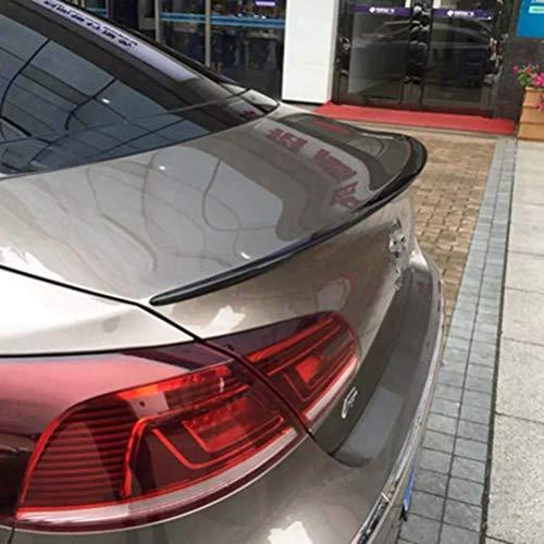SHGE Spoiler Trasero de plástico ABS sin Pintar para Coche VW Passat CC 2009 2010 2011 2012 2013 2014 2015 2016
